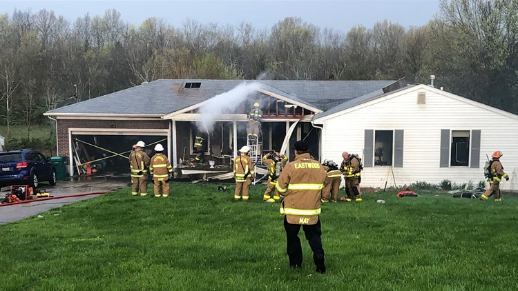 Eastwood house fire
