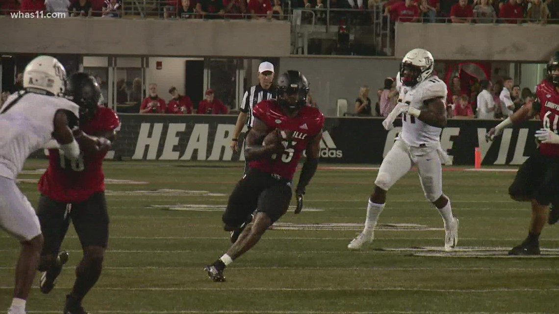 UofL's offensive line finds groove