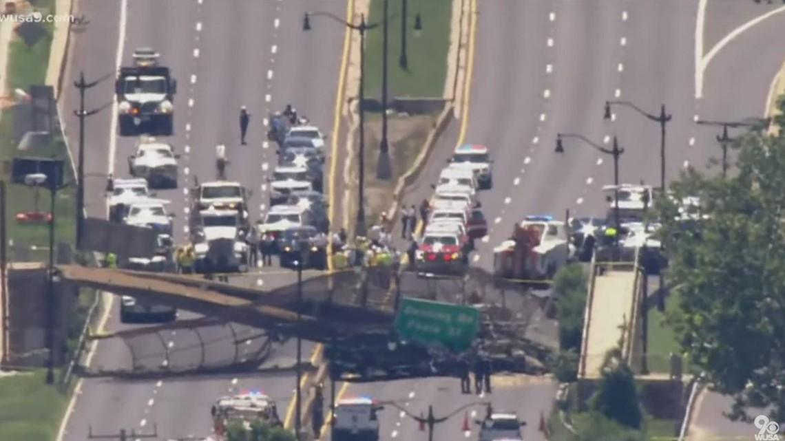DC pedestrian bridge collapse