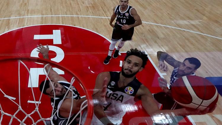China Basketball US Greece