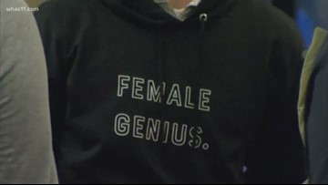 IU students sell sweatshirts to inspire, support young girls
