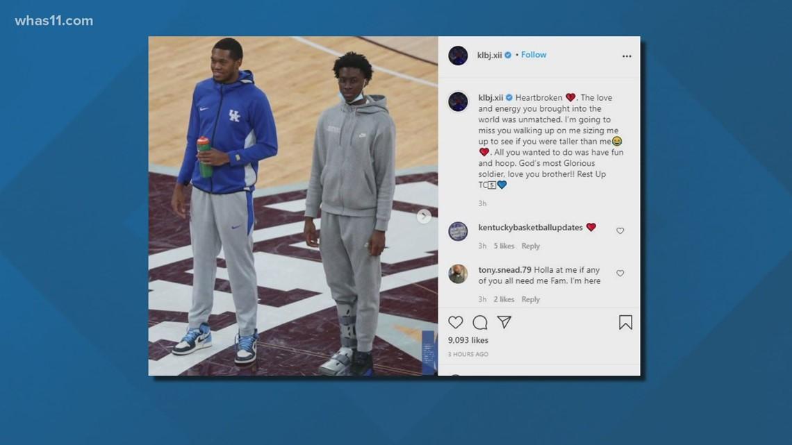 Terrence Clarke, former University of Kentucky basketball player, dies after car crash