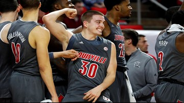 McMahon, No. 6 Cardinals beat Wolfpack 77-57 for road win