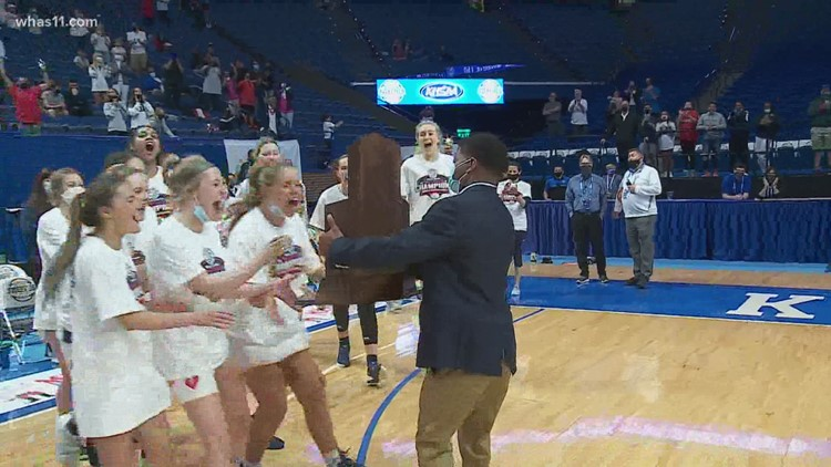 Sacred Heart beats Anderson County 49-47 for state title