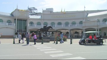 Has there been a crime spike around Churchill Downs?