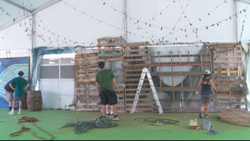 Waterfront Park is transforming for Forecastle