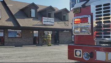 Employee's 'quick thinking' saves Indiana business from serious damage during fire