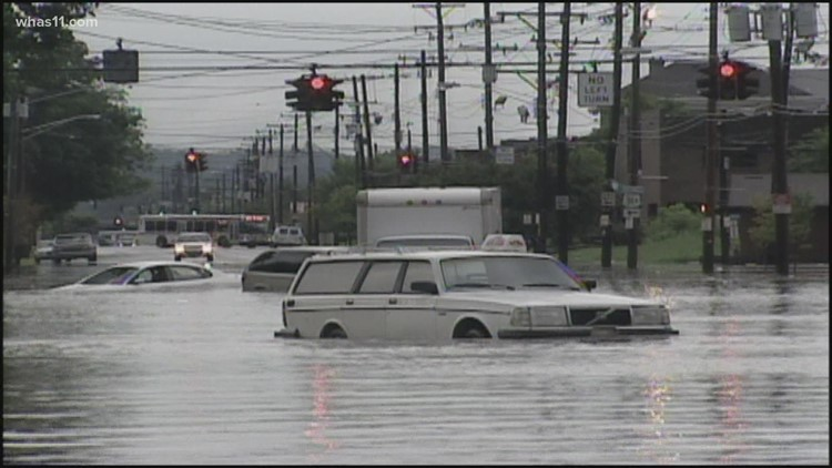 Louisville's history of flooding