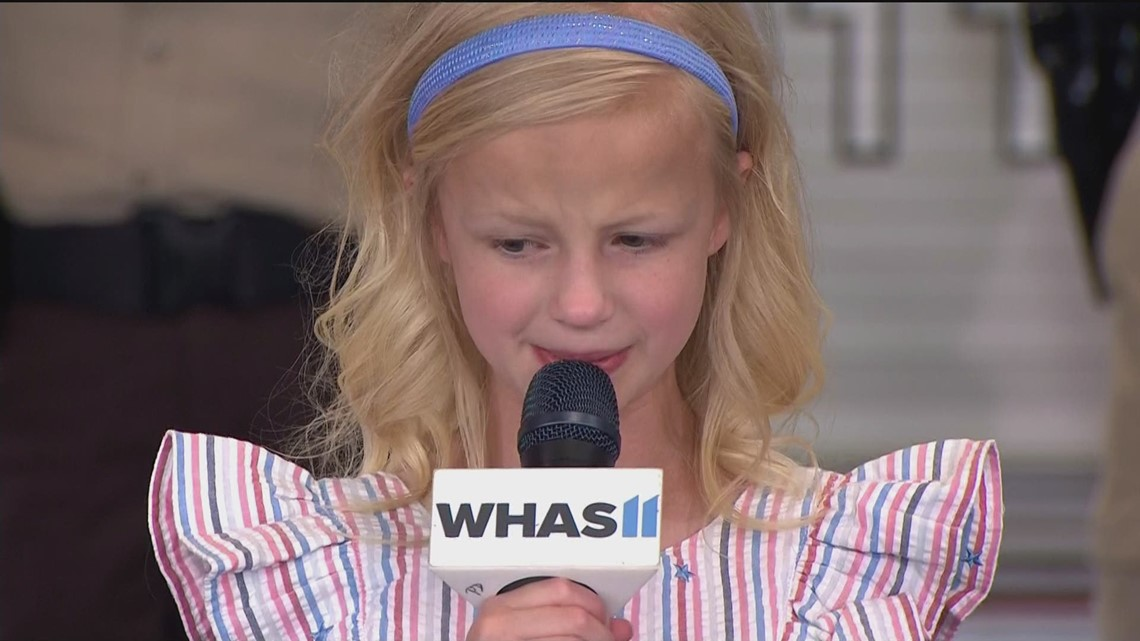 Addie Clarkson sings national anthem at 68th WHAS Crusade for Children