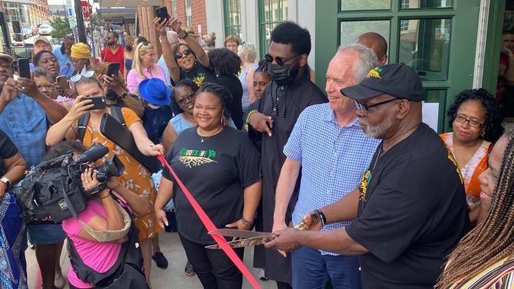 African American museum plants roots, celebrates grand opening on Whiskey Row