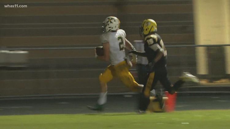 Final scores, highlights from  second week of Kentucky high school football