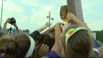 Male softball wins state championship, completes undefeated season