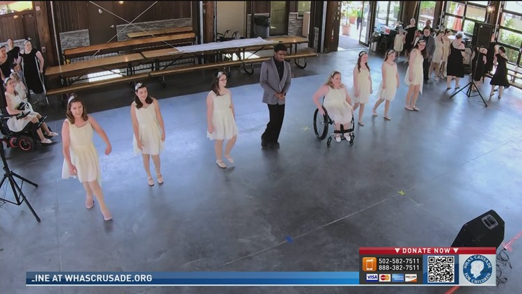 Miracle Dancers perform at 68th Crusade for Children