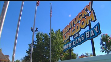 Kentucky Kingdom, Hurricane Bay open for season
