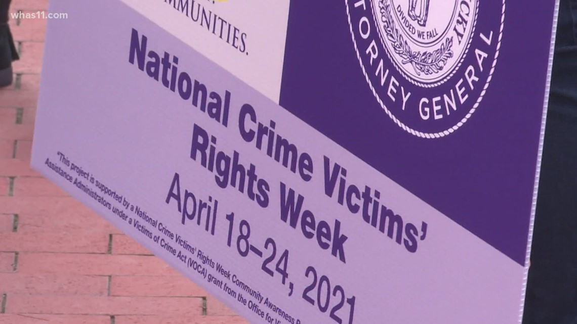 March on Frankfort recognizes work by victims' advocates during National Crime Victims' Rights Week