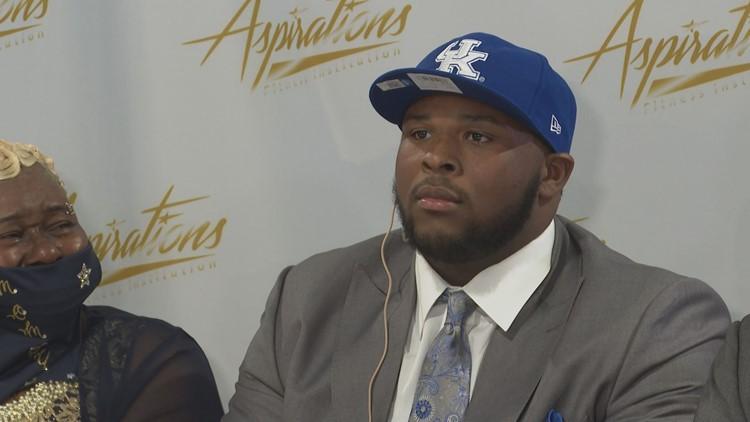 Charlestown's Kiyaunta Goodwin commits to Kentucky football