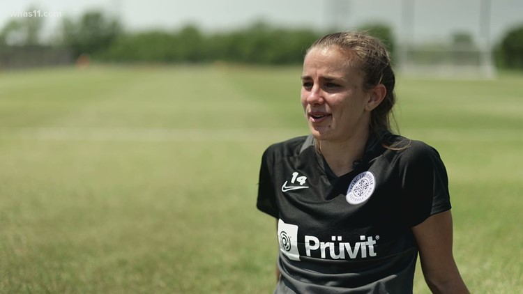 'I'm living out a dream right now' | Racing Louisville FC's Nealy Martin defies odds on the pitch
