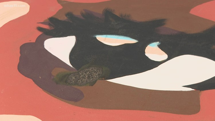 Recently unveiled Breonna Taylor Louisville mural vandalized