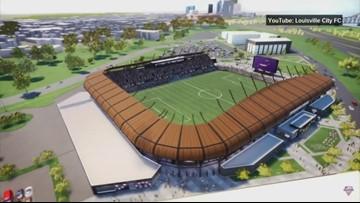 Detailed virtual tour of Louisville's new soccer stadium