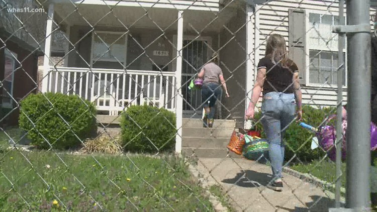 Love Transformation Project delivers Easter Baskets to children across Louisville
