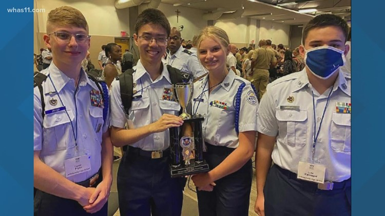 JROTC at Jeffersonville High School finishes 3rd in National Academic Bowl Championship