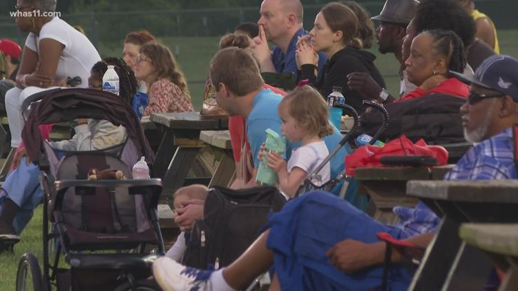'Music brings people together': Concert in Shawnee Park gets Louisvillians out for evening of fun
