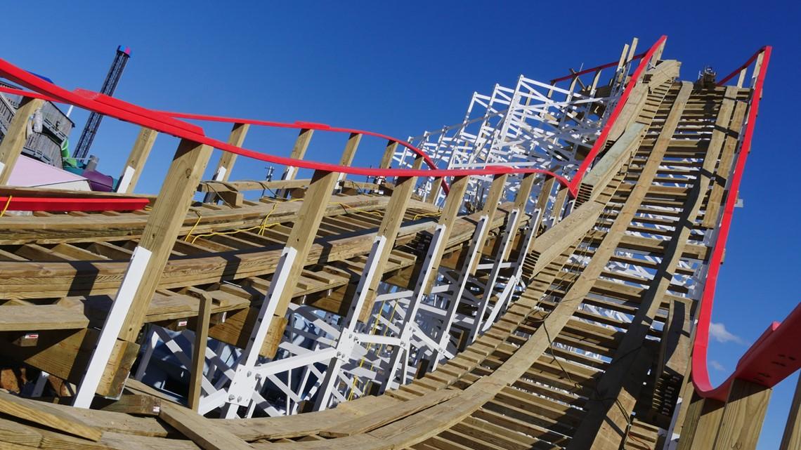 Kentucky Kingdom unveils new roller coaster
