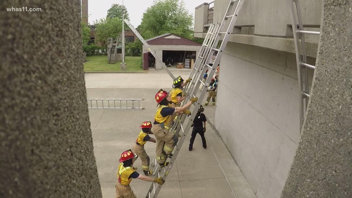 Meet Louisville's next class of firefighters