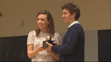 East Middle School teacher honored with ExCEL Award
