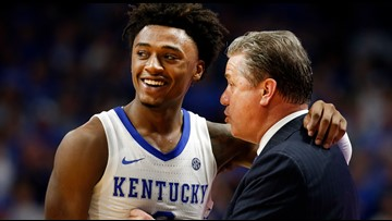 Kentucky jumps in front of Louisville in latest AP Poll