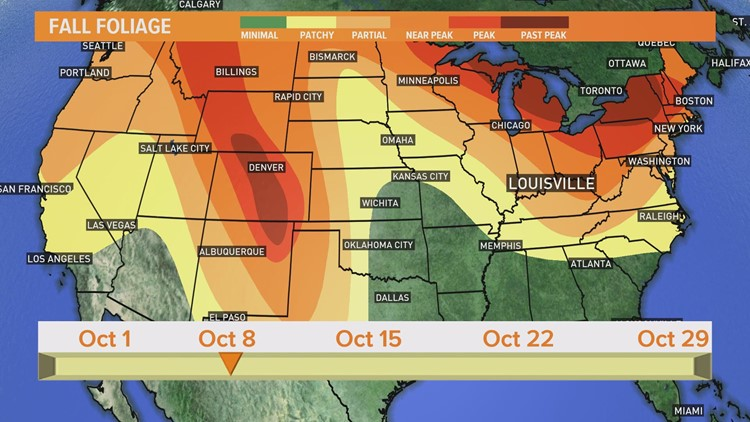 VERIFY: Will record setting rainfall in September make the fall foliage more vibrant?