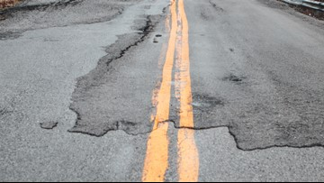 Residents call Highways 202 and 389 the 'roughest road in the state'