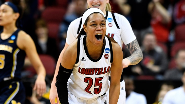 Louisville advances to Sweet 16 for third straight year