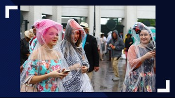 Derby Style: Rain is coming for Oaks, Derby what should you wear?