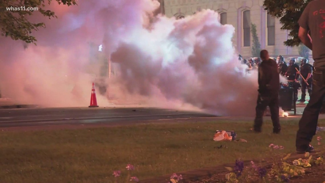 New study investigates possible long-term impact of tear gas