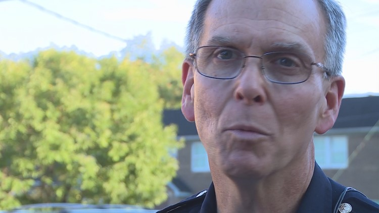 The chief of police says his department works hard to be transparent after shooting involving officers.
