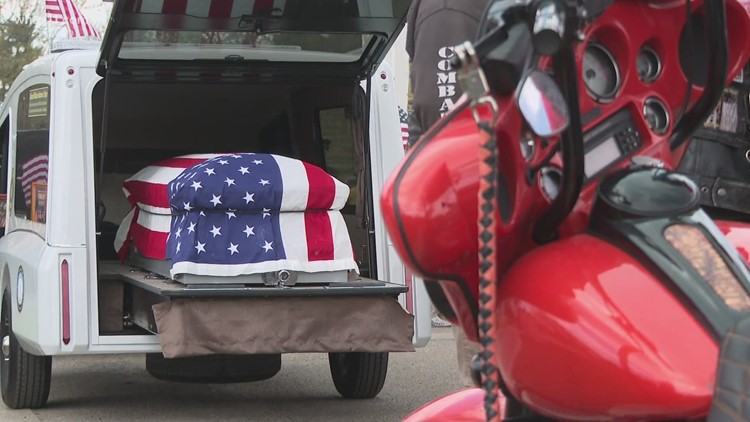 Bikers, strangers honor veteran's dying wish with 1,000-mile journey to Louisville for burial