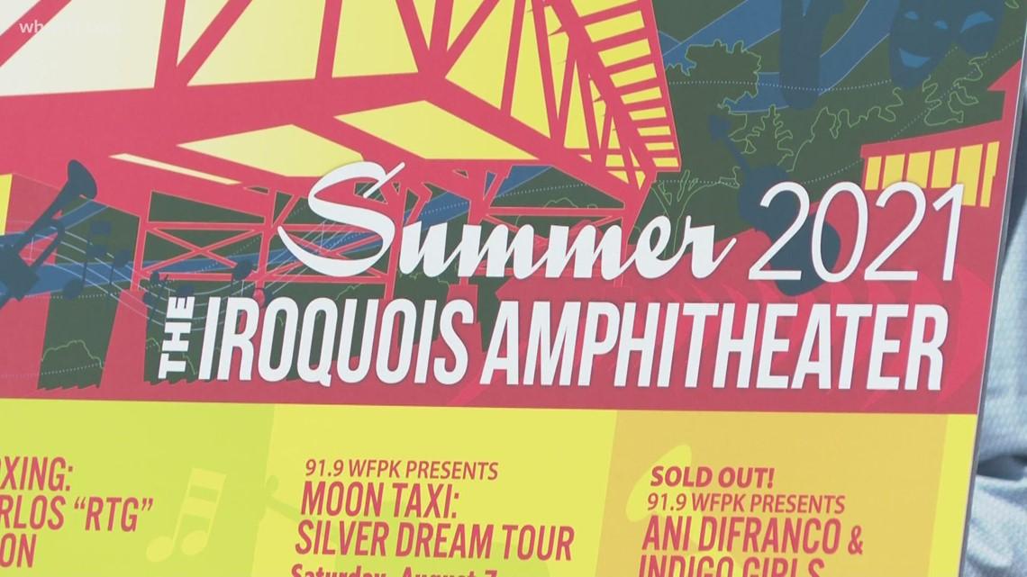 Iroquois Amphitheater announces summer event season line-up