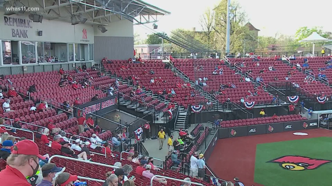Capacity at UofL's baseball stadium expanded after coach's comments