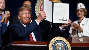 President Trump order forgives student loan debt for disabled veterans