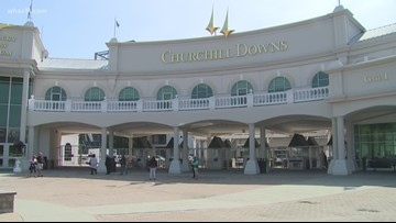 Horse dies after race at Churchill Downs