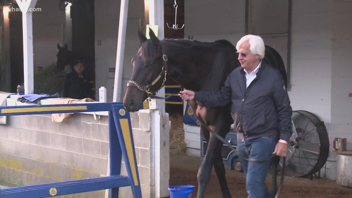 Bob Baffert and 'little horse' Medina Spirit savor Kentucky Derby win