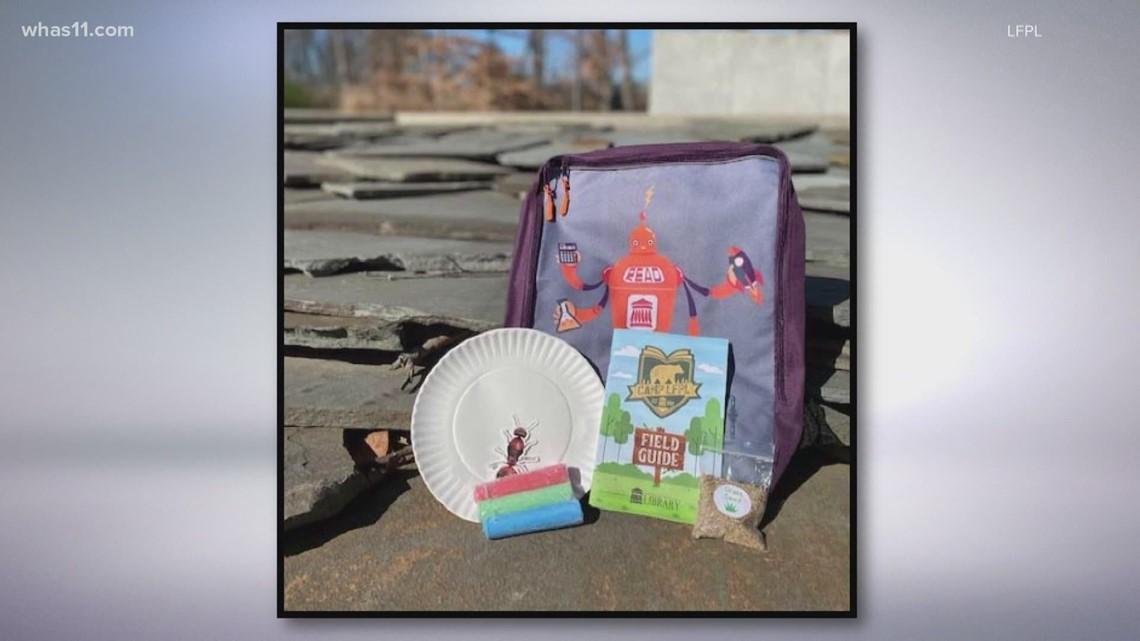 Louisville Free Public Libraries offering 'screen break' bags for students on Spring Break