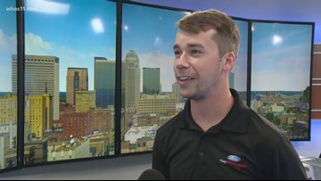 NASCAR's Ben Rhodes riding roller coaster in 2019