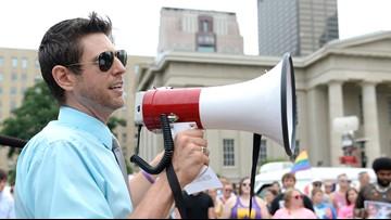 Fairness Campaign director arrested during Kentucky Farm Bureau ham breakfast protest