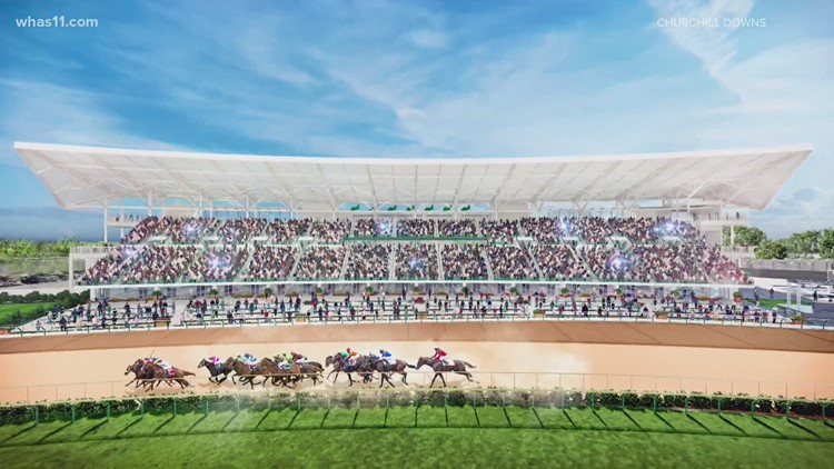 Churchill Downs planning 3 major projects