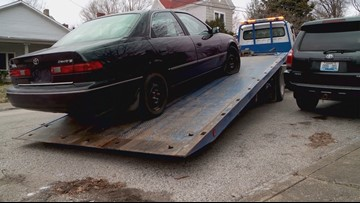 On Your Side: Abandoned car gets towed after two year complaint