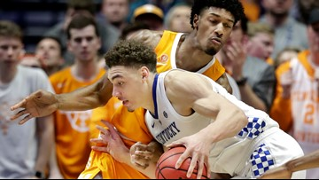 Kentucky falls to Tennessee, 82-78, exits SEC Tournament