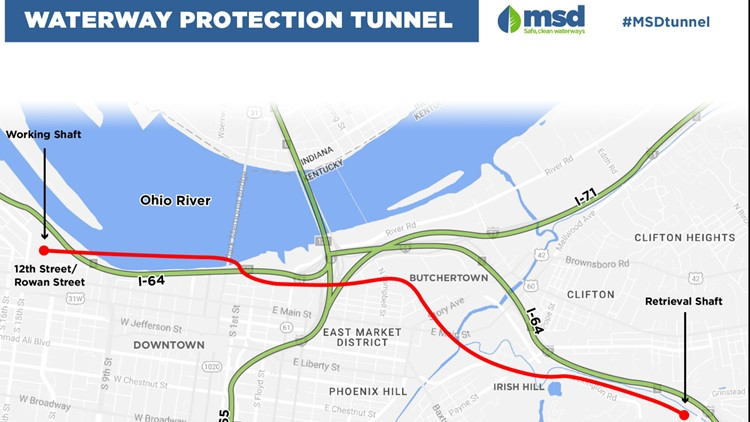 MSD Waterway Protection Tunnel