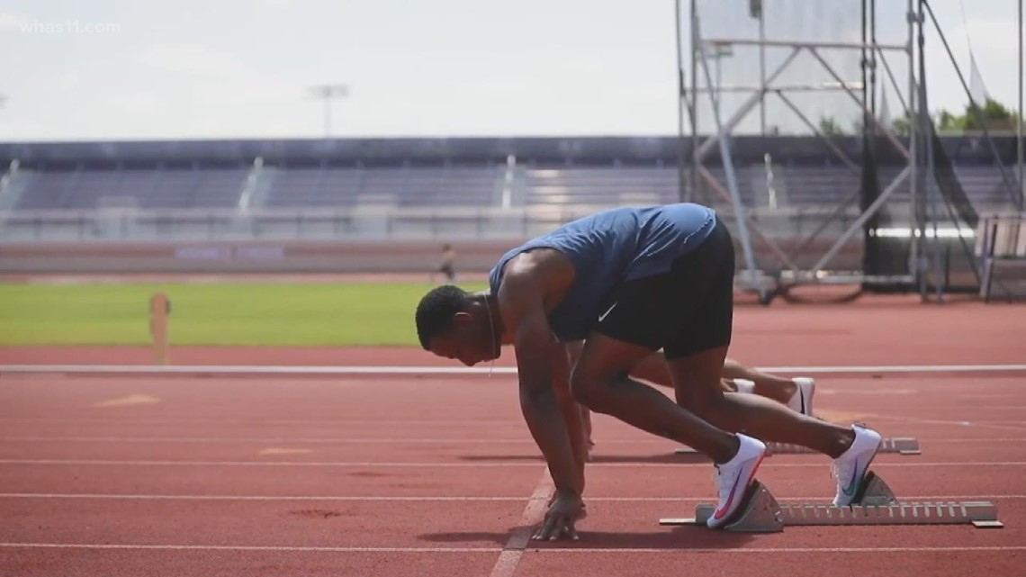 'I always had the speed': Louisville native Ronnie Baker running for gold in Tokyo Olympics